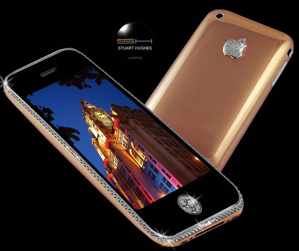 iPhone 3GS Supreme Rose - cel mai scump telefon mobil