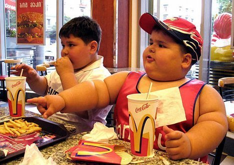 obezitate la copii