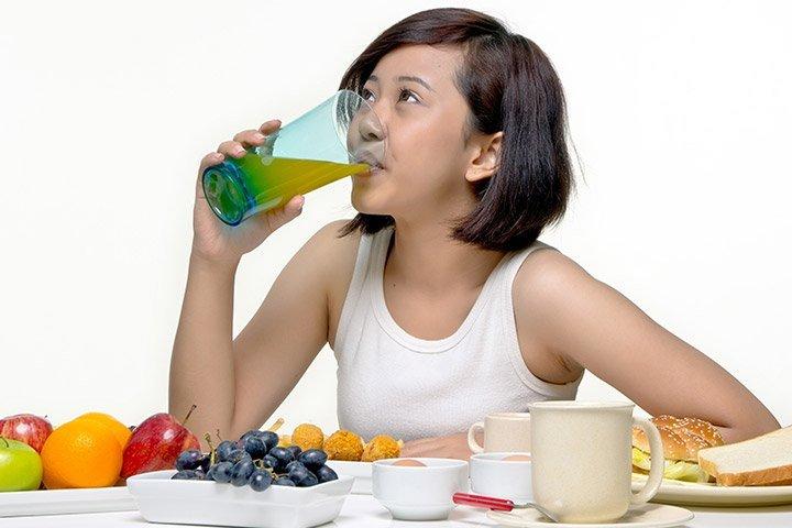 dieta tineri