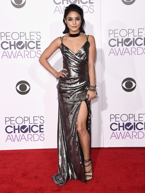 LOS ANGELES, CA - JANUARY 06:  Actress Vanessa Hudgens attends the People's Choice Awards 2016 at Microsoft Theater on January 6, 2016 in Los Angeles, California.  (Photo by Jason Merritt/Getty Images)