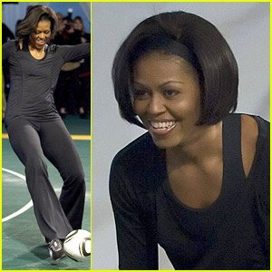 "Michelle Obama – ""Let's Move!"""