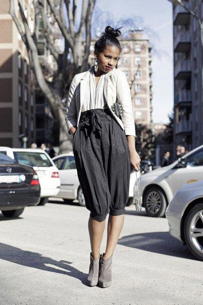 Street Style -Pantaloni Harem