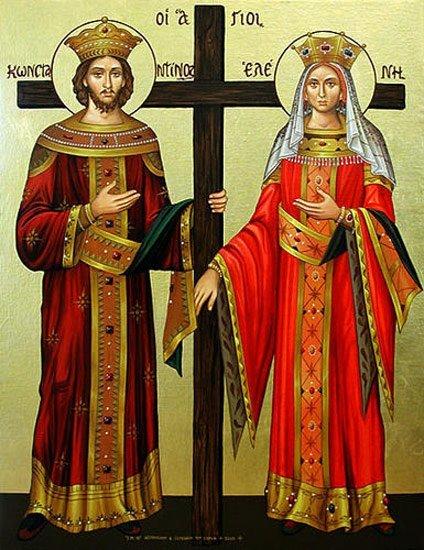 Sfintii Imparati Constantin si Elena – sarbatoriti anual la 21 mai – semnificatie nume