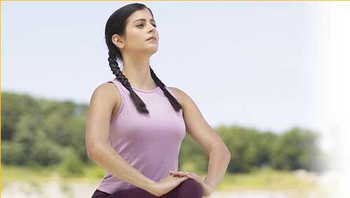 Controleaza-ti respiratia profunda pentru relaxare