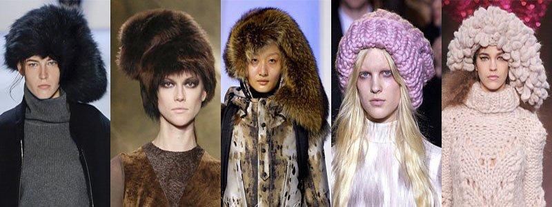 Modele de fesuri si caciuli la moda in sezonul rece 2013/2014