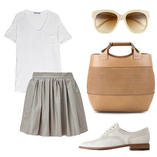 25 de moduri originale in care poti purta un tricou alb
