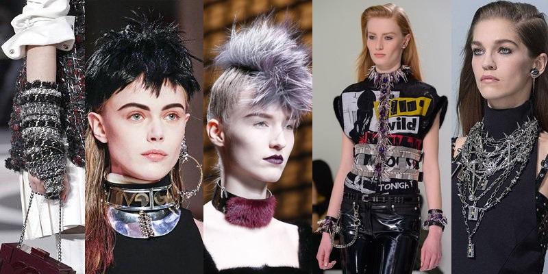 Stilul punk – vezi ce modele de haine si accesorii se poarta in acest sezon!