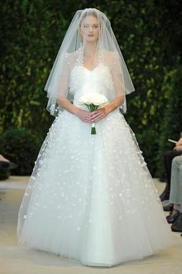 Colectia pentru rochii de mireasa Vera Wang pentru primavara anului 2014
