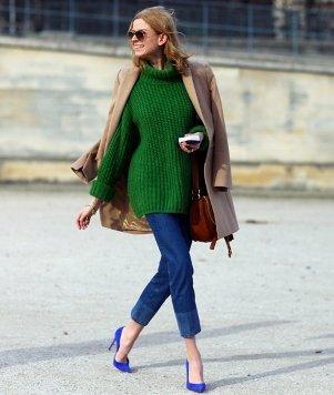 Cum sa porti verdele smarald – Imagini si idei de tinuta
