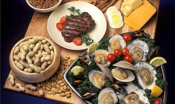 Lista cu alimente care au cel mai ridicat conținut ridicat de zinc