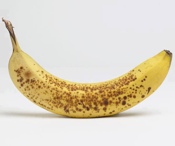 De ce sunt mai bune bananele cu coaja pătată
