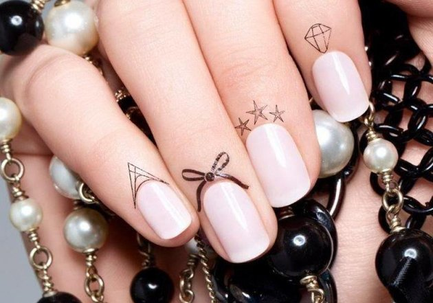 Tatuajele pe cuticule, cea mai noua tendință în 2014