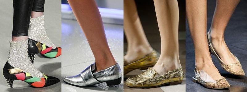 Tendințe în materie de pantofi pentru primăvara – vara 2014
