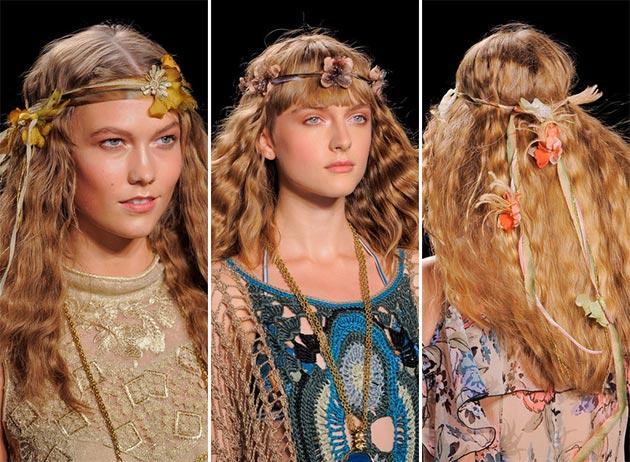 Tendințe accesorii pentru păr – primăvară/vară 2014