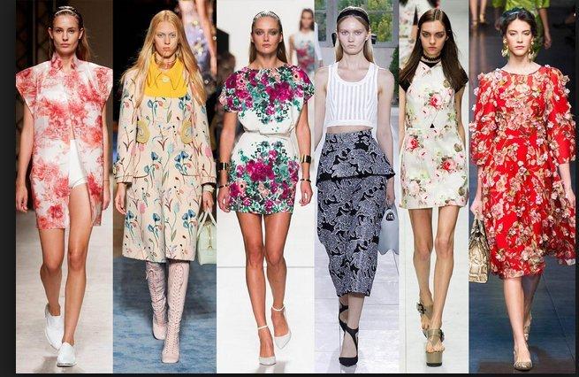 Imprimeurile florale – cea mai proaspătă tendință a primăverii!