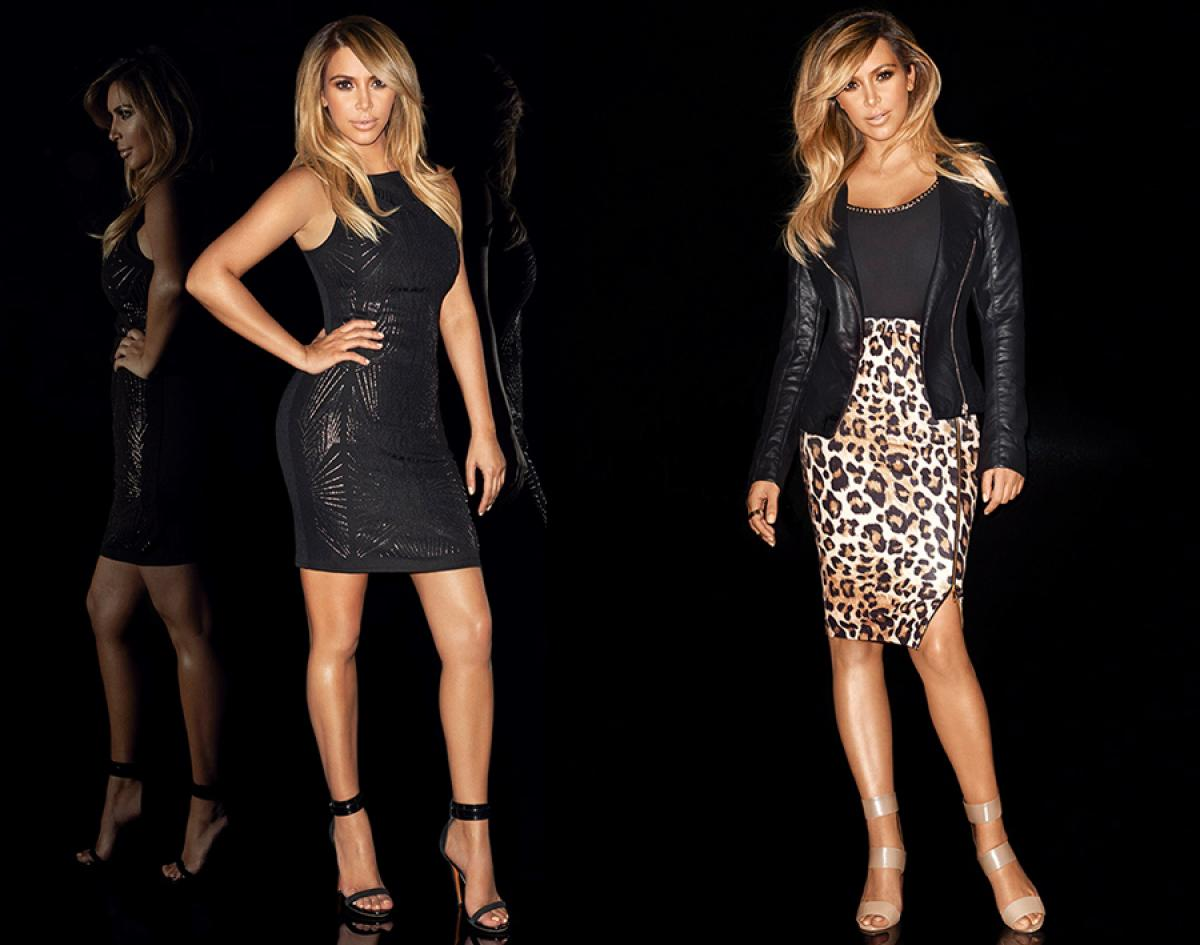 Colecția de haine Lipsy lansată de surprile Kardashian