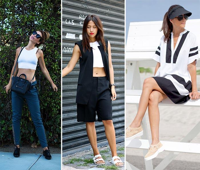 moduri de a purta alb-negru vara_3