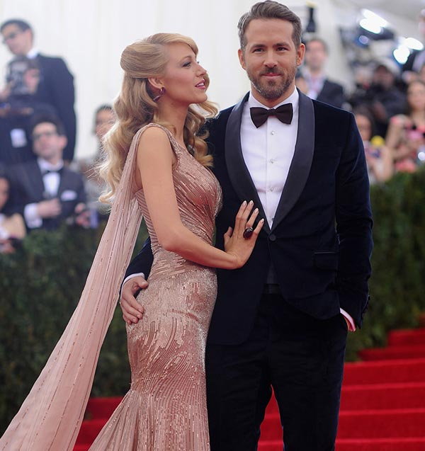 1. Blake Lively and Ryan Reynolds