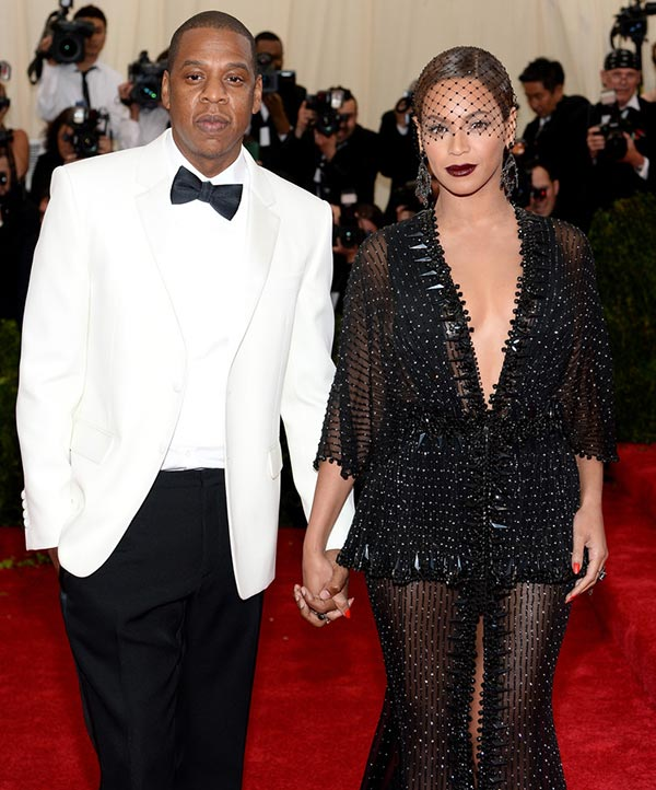 2. Beyonce and Jay Z