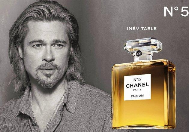 Brad Pitt Chanel No. 5