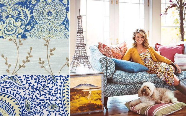 Christie Brinkley Fabric for Jo-Ann