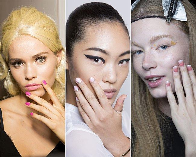 Tendințe manechiură, culori și modele pentru primăvara 2015