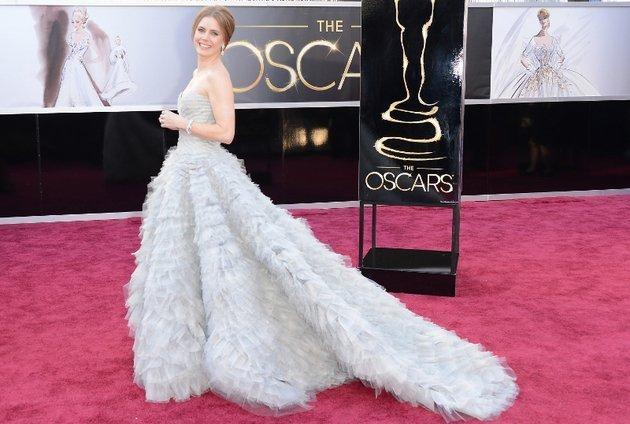Amy Adams, 2013 Academy Awards and Vanity Fair Party