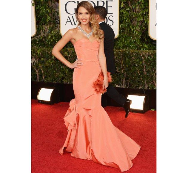 Jessica Alba, 2013 Golden Globes