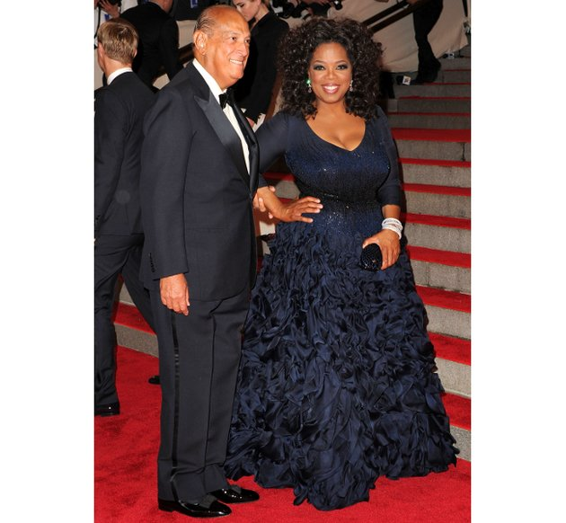 Oprah Winfrey, 2010 Met Costume Institute Gala