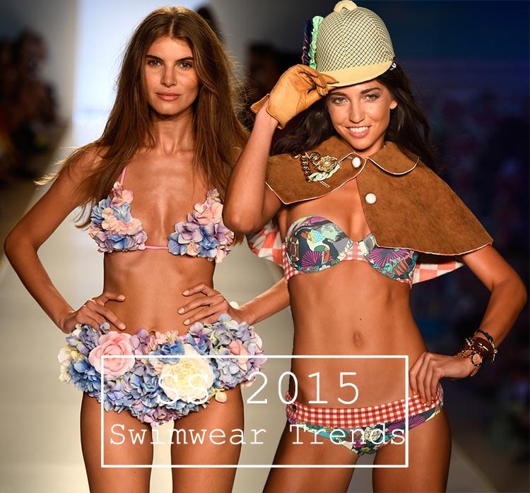 Tendințe costume de baie pentru primăvara / vara 2015