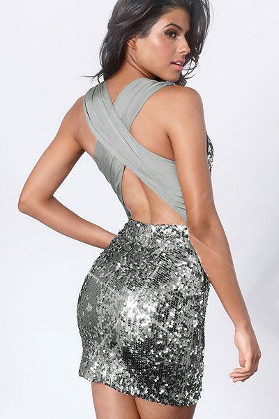 Modele online de rochii de ocazie cu paiete
