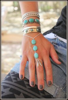 Brățări cu inel la modă 2017