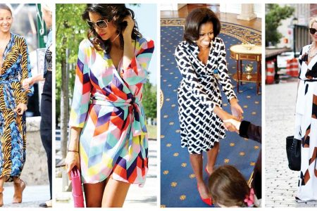 Secretele rochiei petrecute (wrap dress)